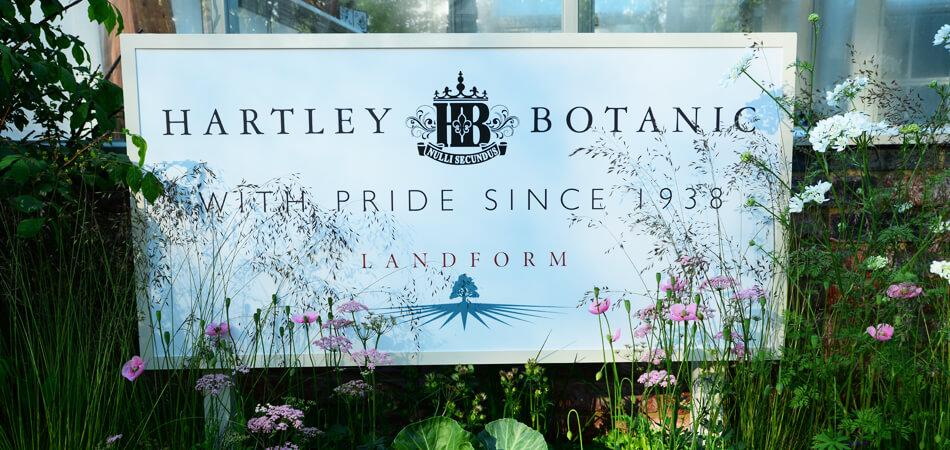 Hartley Botanics Branding Design