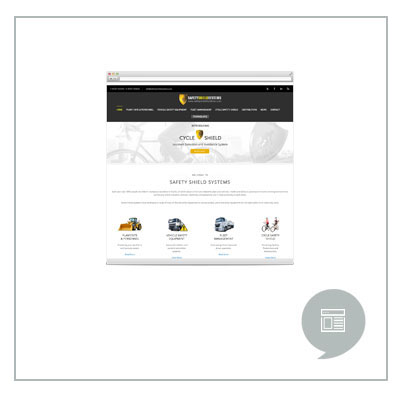 Safety Shield Website Development