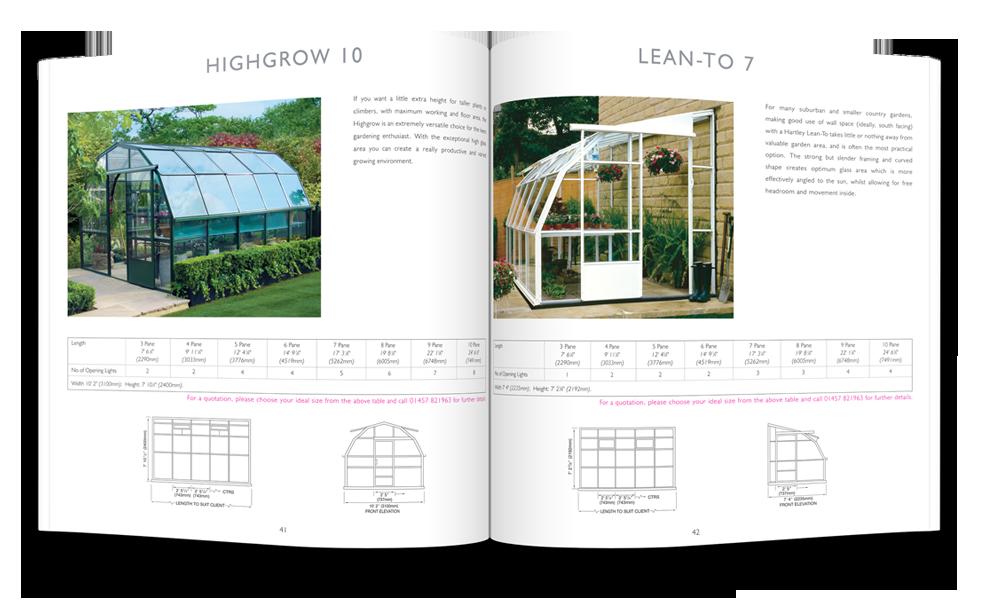 Hartley Botanic Brochure Design