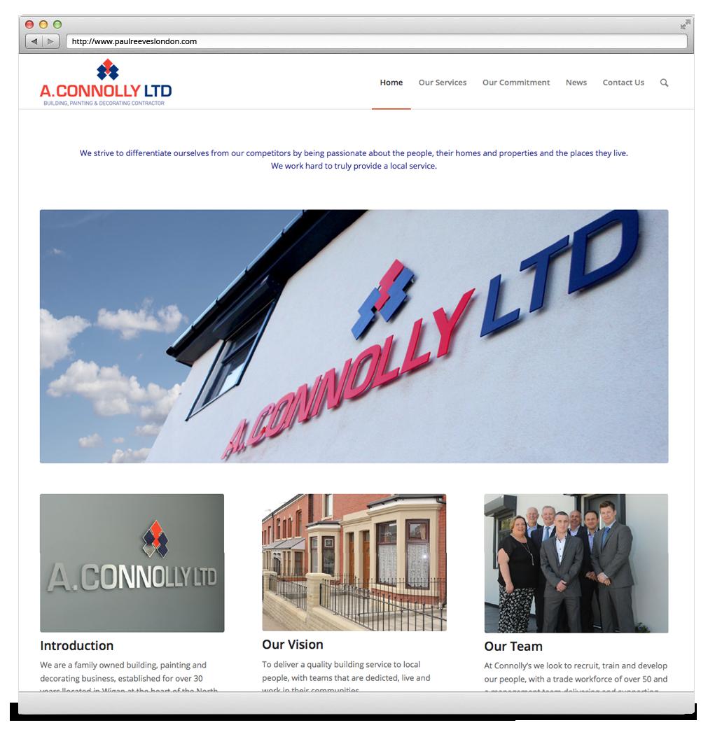 A Connolly Website Development