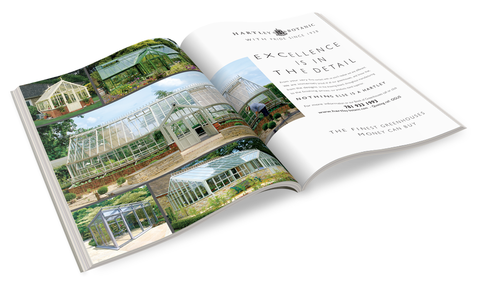 Hartley Botanic Magazine Ads