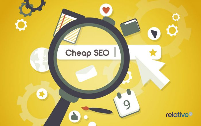 cheap seo graphic