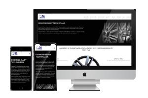 Apple Macs showing the DATechs.co.uk website