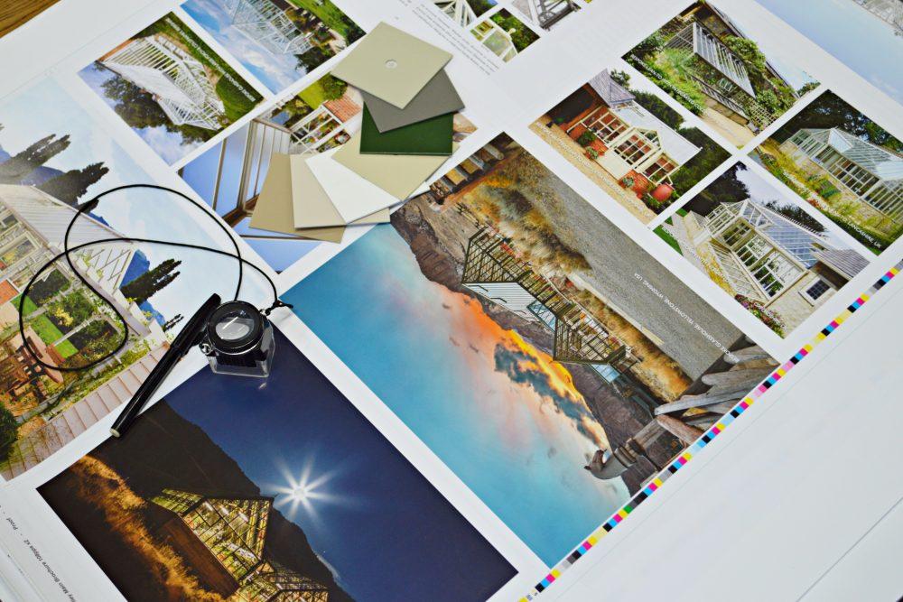 Print marketing by relative marketing on display