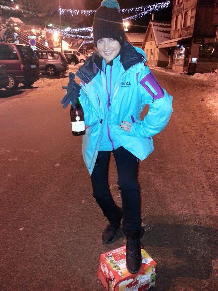 Olivia Chapman social media manager on aline village road
