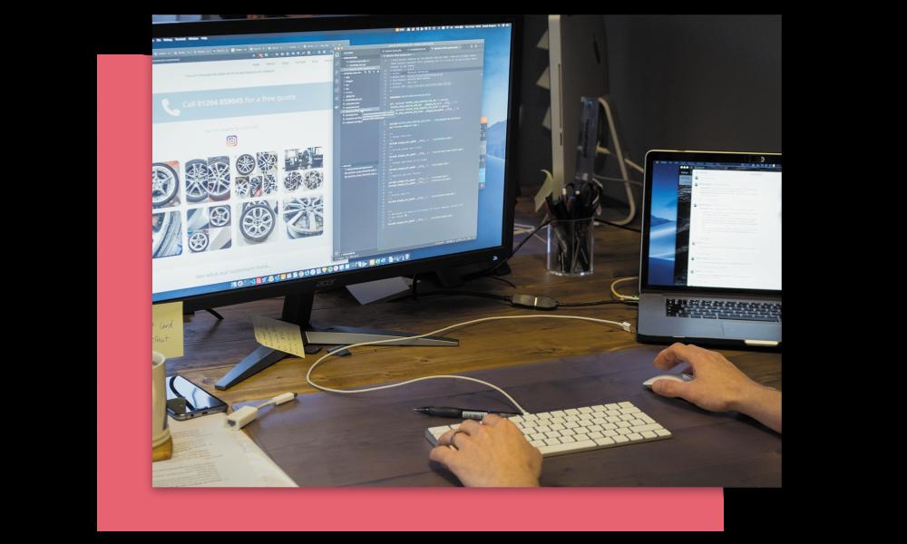 da techs website development