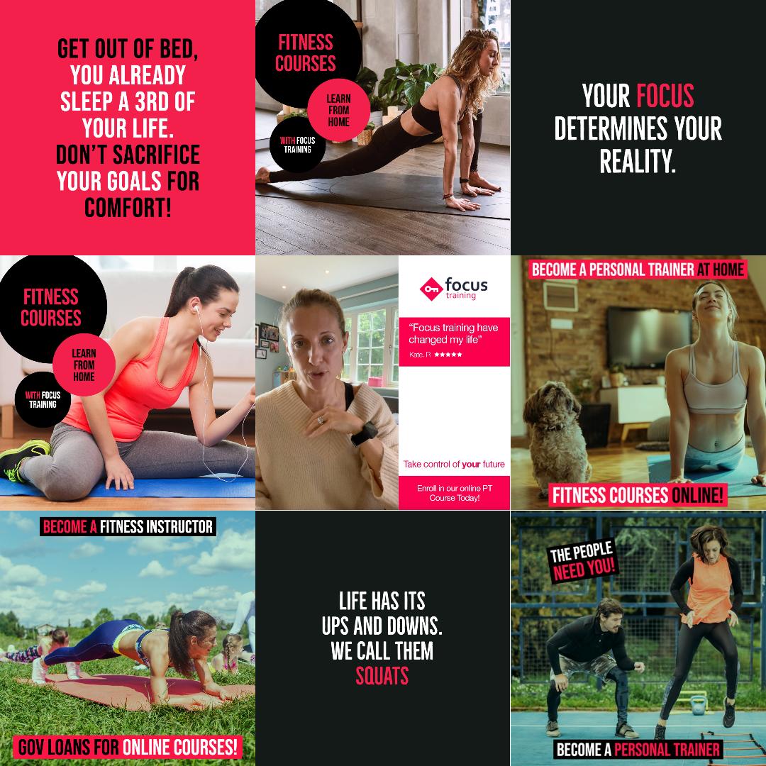 focus training collage